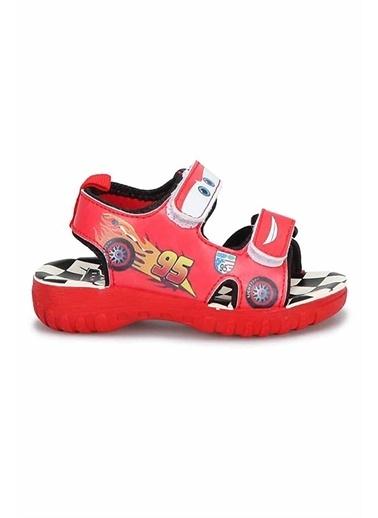 Gigi Gigi 72885T Şimşek Mcquenn Baskılı Erkek Çocuk Sandalet Kırmızı